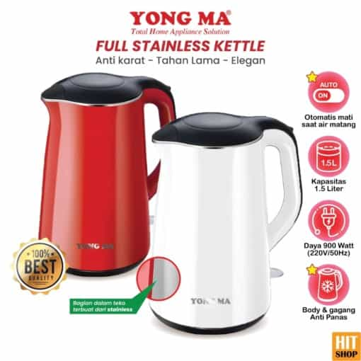Yong Ma Full Stainless Kettle