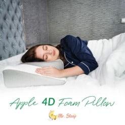 apple 4d foam pillow