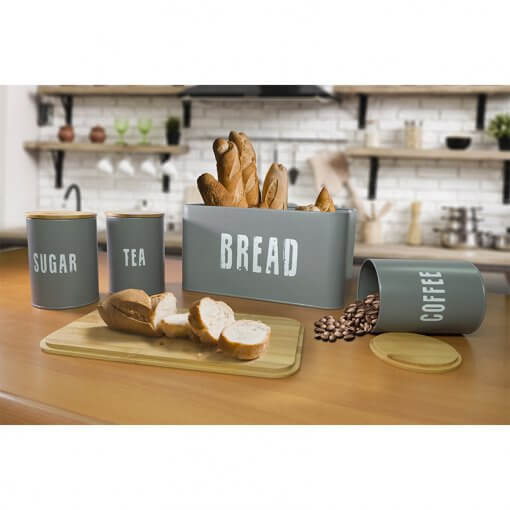 Breadbin and Canister Set