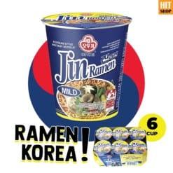 OTTOGI Jin Ramen Mild Cup