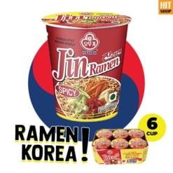 OTTOGI Jin Ramen Spicy Cup