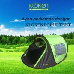 KLOKEN Pop Up Tent