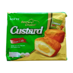 Lotte Custard Cream Cake