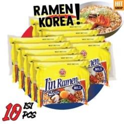 OTTOGI Jin Ramen Mild isi 10