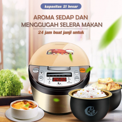 HAN RIVER Rice Cooker Smart Touch Screen