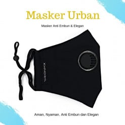 AIRIONMX Masker Urban 3 Ply Model 3