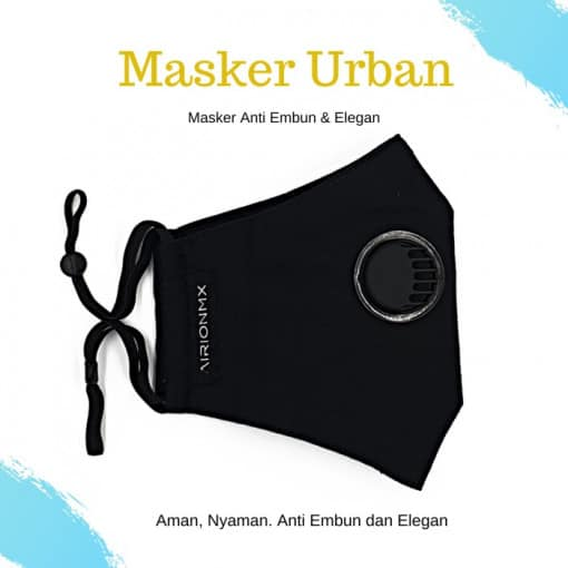 AIRIONMX Masker Urban 3 Ply Model 3