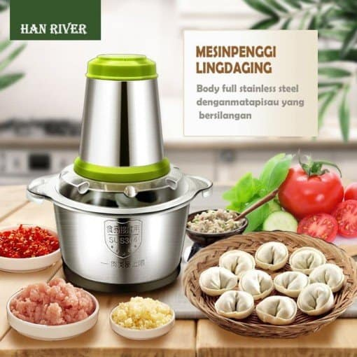 HAN RIVER Stainless Steel Meat Grinder