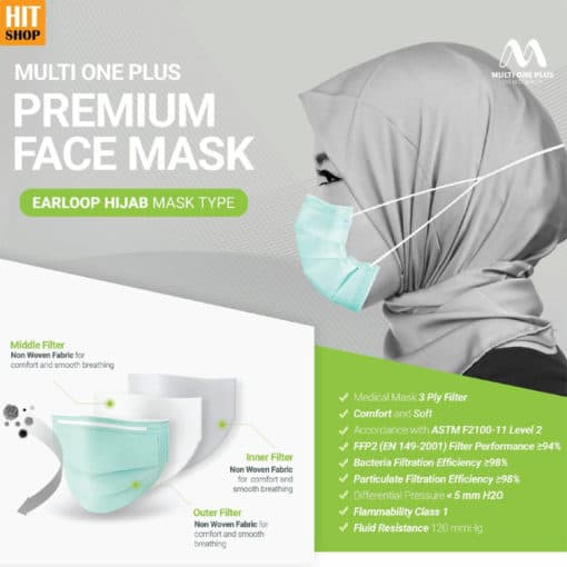 Masker Premium Multi One Plus
