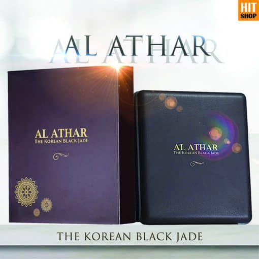 AL ATHAR The Korean Black Jade - Kalung Terapi Kesehatan