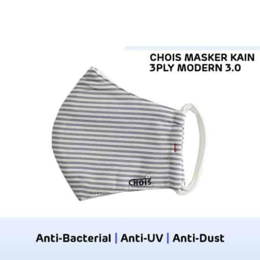 Chois Masker Kain 3ply - Pelindung Wajah dari Debu Polusi Virus