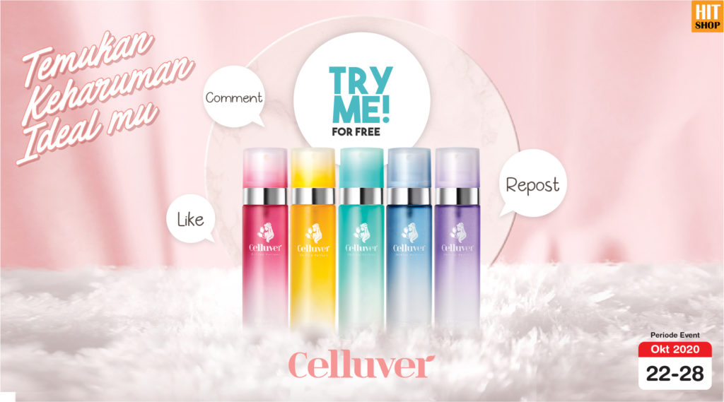 TRY ME & REVIEW: CELLUVER Chiffon Perfume