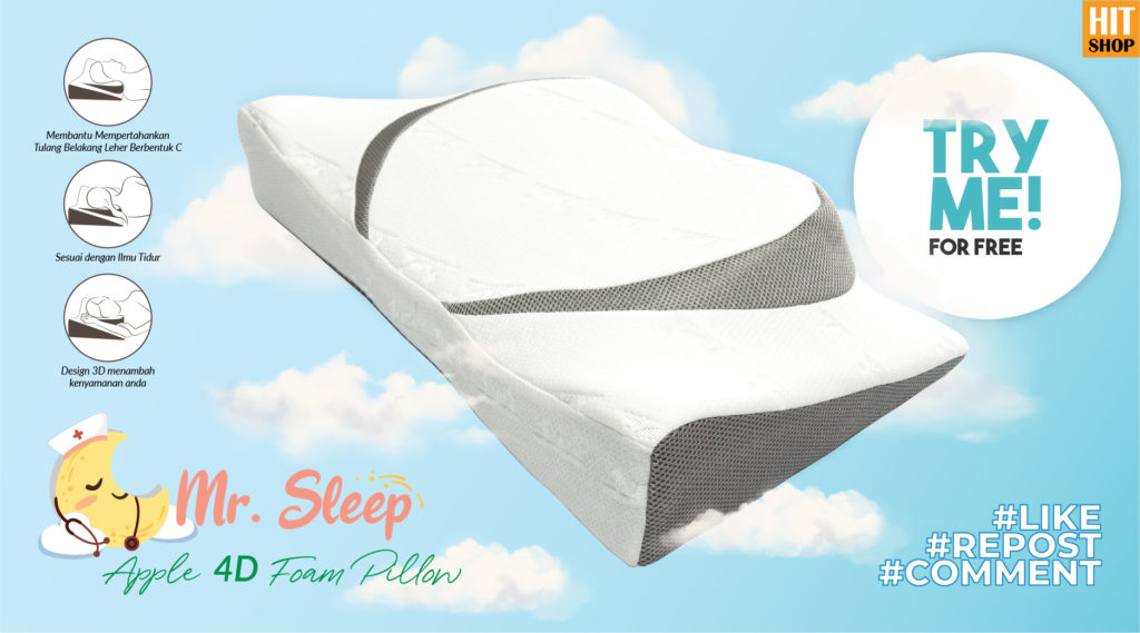 TRY ME & REVIEW (Giveaway): Mr. Sleep Pillow