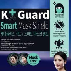 KPlus Guard Smart Mask Shield - Alat Pelindung Diri/Wajah