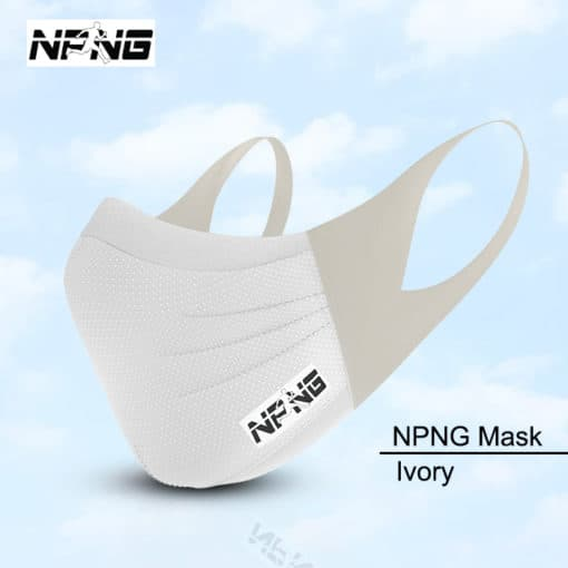 NPNG Sports Mask IVORY
