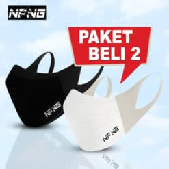 NPNG Sports Mask PAKET BELI 2