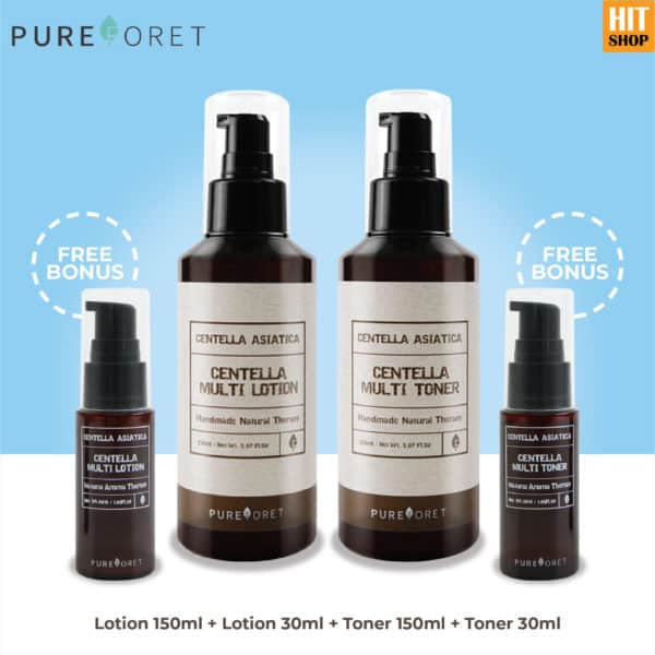 PUREFORET - Centella Multi Toner & Lotion 150 ml