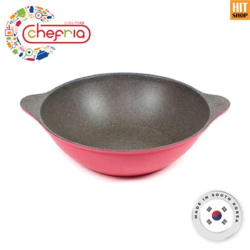CHEFRIA Vivid Wok Pan Double Handle