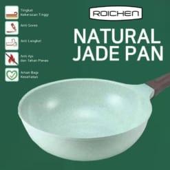 ROICHEN NATURAL JADE WOK PAN