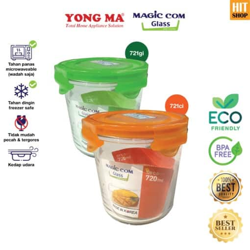 YONG MA Magic Com Glass 720 ml