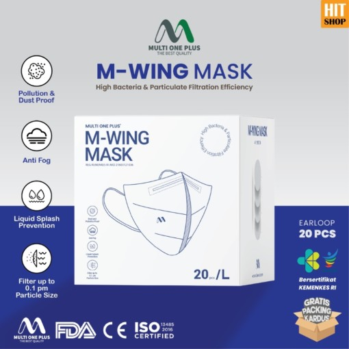 Multi One Plus M-Wing Mask